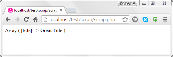 scrapping-demo-php