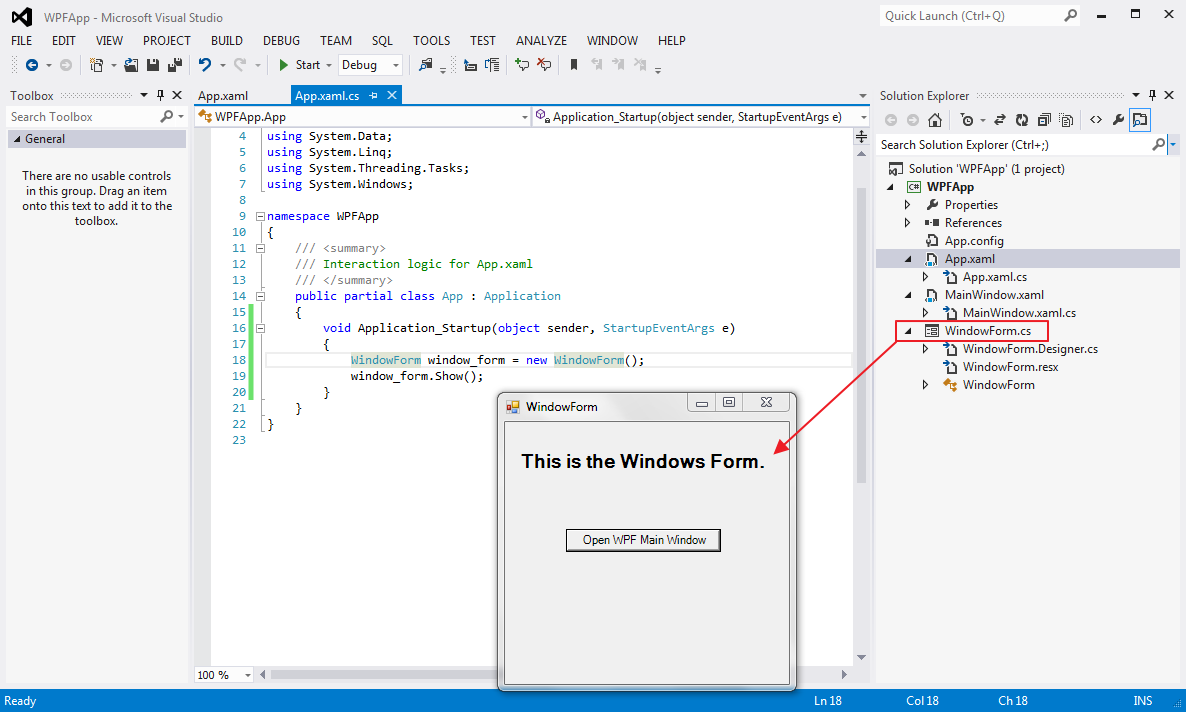 set-startup-window-wpf-app