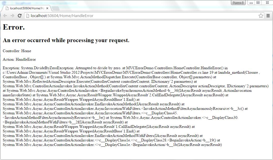 mvc-handle-error