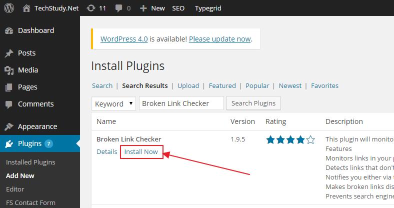 install-Broken-Link-Checker