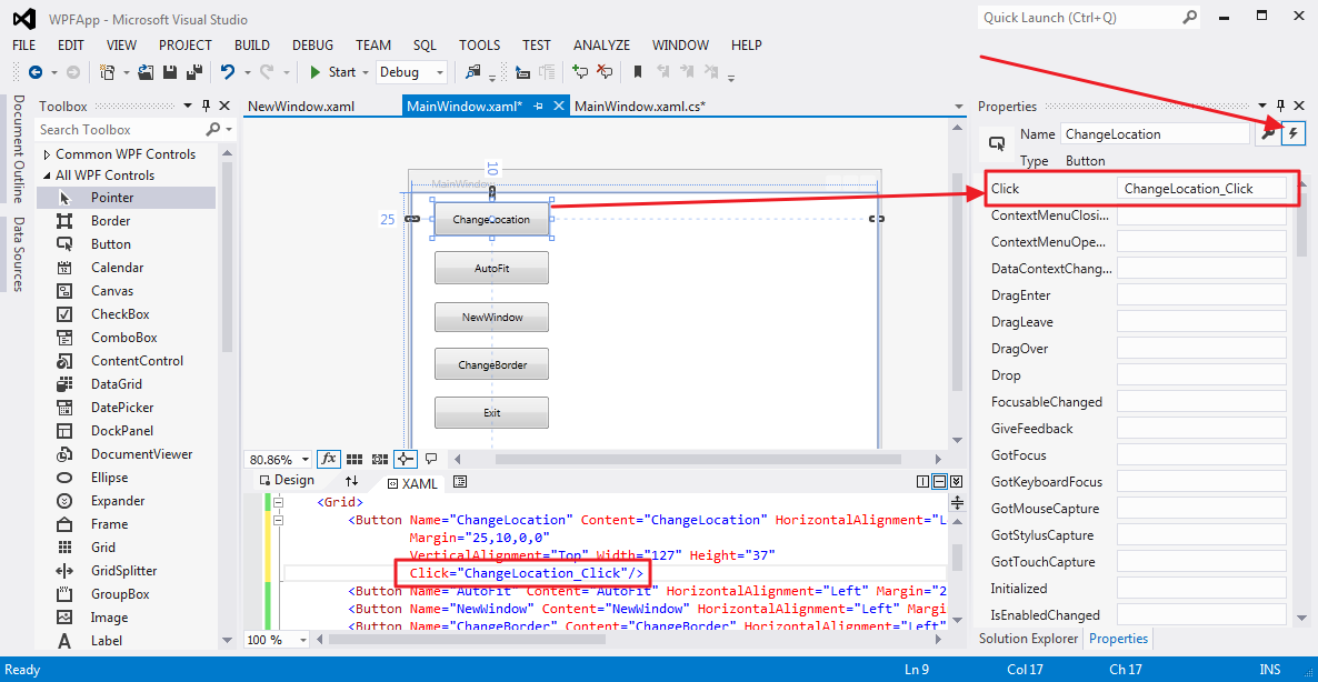 Getting Started with C# WPF Application - CSharpCode org