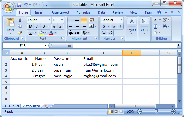 ASP NET MVC: Export Data to Excel from Database using EPPlus